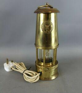 The Premier Lamp Crestella Engineering Co Ltd Mining Colliery Electric Lamp -EHB