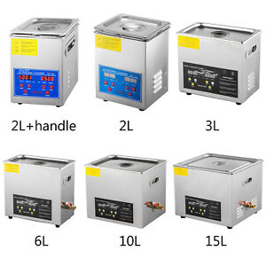 High Power Ultrasonic Cleaner Jewelry Cleaner Cleaner /Heater Timer