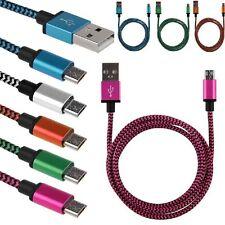 Micro USB Daten Ladegerät Kabel For Galaxy Samsung S2/3/4 HTC/LG Sony Blackberry