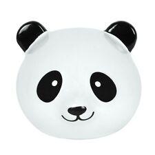 Panda Head Ceramic Money Box Bear Gift Animal lovers Friends Kids Decor Fund