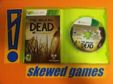 The Walking Dead The Game - Tell Tale - XBox 360 Microsoft COMPLETE