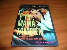Y Tu Mama Tambien (Dvd, 2002, Widescreen Unrated) Diego Luna Used