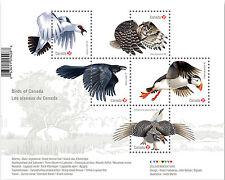 2016 Canada Birds of Canada Souvenir Sheet MNH