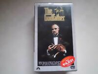 THE GODFATHER Marlon Brando movie VHS japan  New unopened