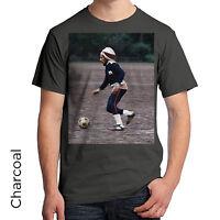 Bob Marley T-Shirt Legend Soccer Ball Kick Very Cool Jamaican Men's Women's 150