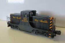 Form-Neuheit  US Diesel GE44 ton Switcher SCALE,  RIO GRANDE Spur 0-3 Leiter
