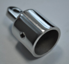 1 PCS Eye End Cap Bimini Top Fitting / Hardware 1'' Marine Stainless Steel