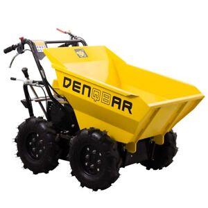 Mini Dumper Raddumper Allrad Motorschubkarre 300 kg DENQBAR DQ-0289