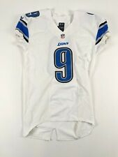 MATTHEW STAFFORD Detroit Lions 2015 GAME ISSUED Football Jersey NFL #9