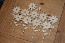 Set 10 pezzi di forma un piccolo fiore Bella Decorazione M5 per decoupage