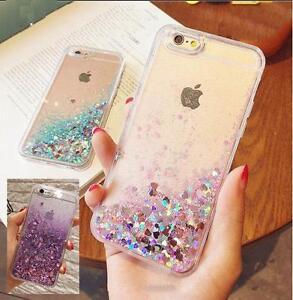 Sparkling Liquid Glitter Sand Phone Case Shell Cover iphone 5 5S SE 6 6S 7 Plus