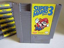 Super Mario Bros. 3 Nintendo NES  Game only.