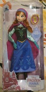Disney Store Anna Classic Doll, Frozen - New