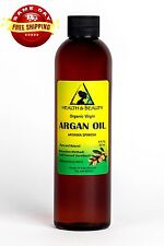 ARGAN OIL UNREFINED ORGANIC EXTRA VIRGIN MOROCCAN COLD PRESSED RAW PURE 8 OZ