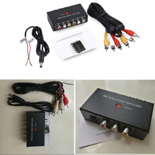 2In1 Car Av Audio Video Intelligent Channel Switcher Selector for Dvd Camera Car