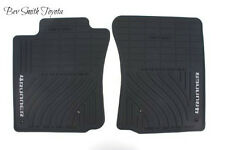 NEW OEM 2003-2009 TOYOTA 4RUNNER ALL WEATHER FLOOR MATS 2-PIECE SET