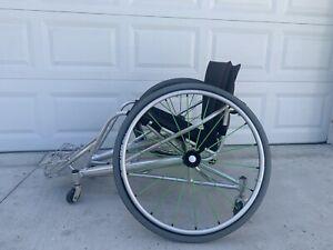"""Lightweight Sport wheelchair 26""""  Spinergy wheels"""