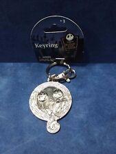 Nightmare Before Christmas Jack Skellington & Pumpkin Key Ring NWT