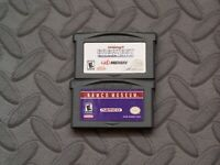 Lot Nintendo Game Boy Advance GBA Games Midways Greatest Arcade Hits, Namco