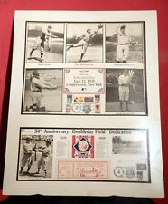 50TH HALL OF FAME  ANNIVERSARY LIMITED EDITION COLLAGE