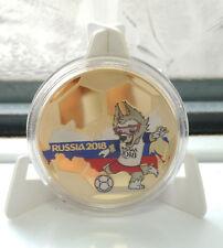 World Cup Russia 2018 Gold Coin Players Map De Gea Mohamed Salah Footballers UK
