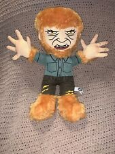 "Universal Studio Monsters Wolfman Werewolf Stuffed Plush Toy Horror 14"" J2"