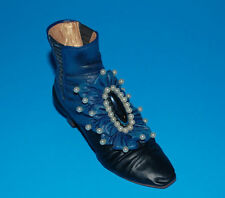 JUST THE RIGHT SHOE NEW VICTORIAN ANKLE BOOT 25089 MINIATURE COLLECTABLES