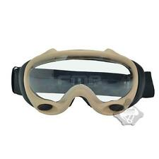 FMA OK ski goggles black and white lenses Dark EarthTB958-DE For Paintball