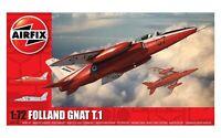 Airfix Folland Gnat T.1  1:72 Scale Plastic Model Kit A02105
