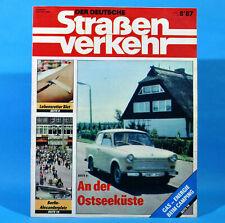 Der Deutsche Straßenverkehr 8/1987 Ribnitz-Damgarten Velorex 700 Bautzen M8