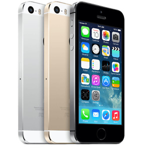 Apple iPhone 5s 16-32-64GB- Unlocked 4G LTE Smartphone All Colours UK Very Good