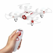 Drone Blanco SYMA X20-S 4-Canales 3D De tirón 2,4 ghz FPV Mini Pocket Radio