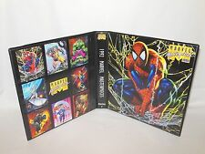 Custom Made 1992 Marvel Masterpieces Series 1 Trading Card Binder Graphics Only