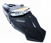 Unbranded Motorcycle Rear Mudguard with LED Tail Light and Integrated Indicators