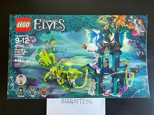 NEW LEGO Elves 41194 Noctura's Tower & the Earth Fox Rescue 646 pcs RETIRED NISB