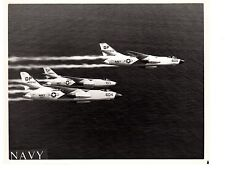 Douglas Skywarrior A3D Of VAH-13Navy Fighter Aircraft  8x10 1961