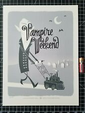 Vampire Weekend Concert Poster Reproduction
