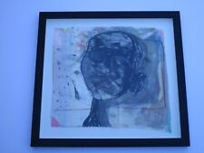 FAMOUS CONTEMPORARY PAINTING ABSTRACT EXPRESSIONISM MODERNIST PORTRAIT FACE HEAD