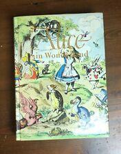 ALICE IN WONDERLAND Junior Illustrated Library HB/DJ 1984 Vintage Edition