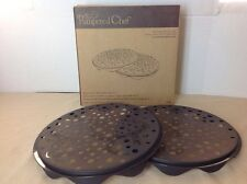 THE PAMPERED CHEF MICROWAVE CHIP MAKER- Make Your Own Potato Or Apple Chips! NEW