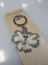 100 x Butterfly Keyring bombonniere, wedding favour, key rings, keychain