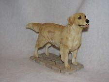 Nicely Detailed Standing Golden Retriever Dog Figurine