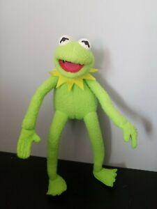 "VTG Applause Plush Kermit The Frog Jim Henson Posesable 12"" NICE!"