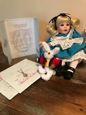 Baby Alice In Wonderland Marie Osmond Tiny Tots #1039 limited edition w/necklace