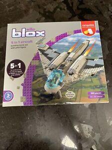 Wilko blox 5 in 1 Aircraft