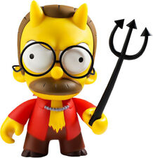"THE SIMPSONS - Devil Flanders 7"" Vinyl Figure (Kidrobot) #NEW"