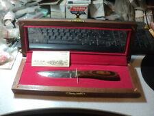 NOS Harley-Davidson Custom Buck Knife V Twin Series Knucklehead Knife #0016/3000