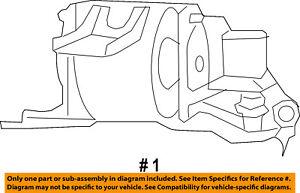 CHRYSLER OEM Engine-Side Mount 5105489AK