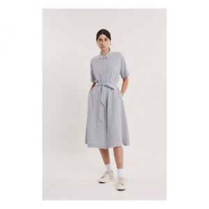 YMC Joan Dress, new with tags XS Blue And White Stripe