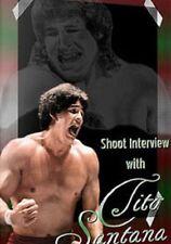 Tito Santana Shoot Interview Wrestling DVD,  WWF